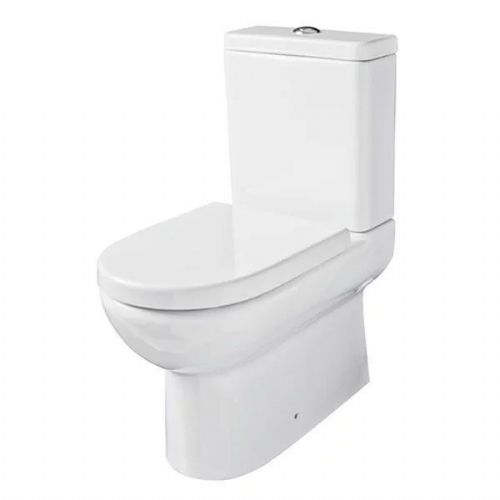 Kartell Ratio Back To Wall Close Couple Toilet - Cistern - Soft Close Seat